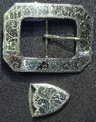 Engraved Clip Corner Buckle